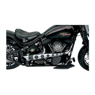 Covingtons Hot Rod 2-Into-1 Exhaust For Harley Softail / Dyna 1986-2011