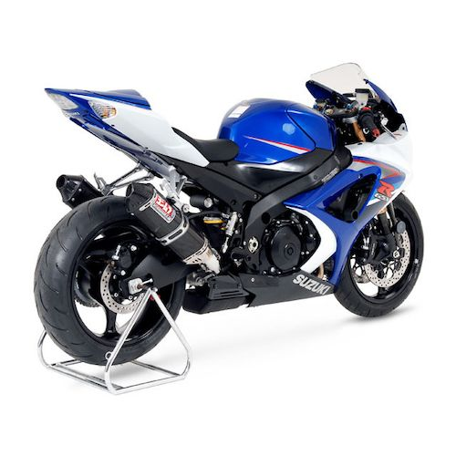yoshimura trc street dual slip on exhaust suzuki gsxr 1000 2007 2008 revzilla. Black Bedroom Furniture Sets. Home Design Ideas