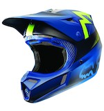 Fox Racing V3 Franchise Helmet Blue / MD [Blemished - Very Good]