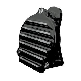 Covingtons Finned Billet Aluminum Horn For Harley 1991-2015