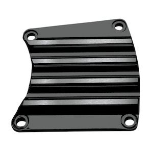 Covingtons Finned Inspection Cover For Harley Touring 1985-2006