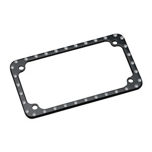 Covingtons Dimpled License Plate Frame
