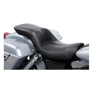 Danny Gray LowIST 2-Up Seat For Harley Dyna 2006-2017