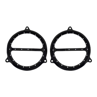 Covingtons Dimpled Front Speaker Grills For Harley Touring 2014-2018