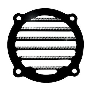 Covingtons Finned Front Speaker Grills For Harley Touring 1996-2013
