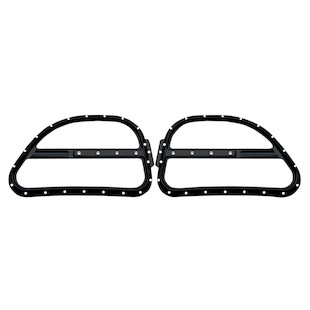 Covingtons Dimpled Front Speaker Grills For Harley Touring 1998-2013