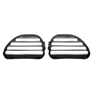 Covingtons Finned Front Speaker Grills For Harley Touring 1998-2013