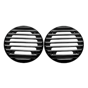 Covingtons Finned Rear Speaker Grills For Harley Touring 1999-2013