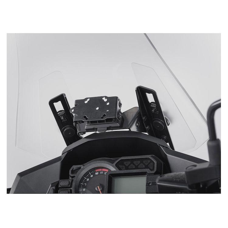 SW-MOTECH Quick Release GPS Mount Kawasaki Versys 1000 2015-2018