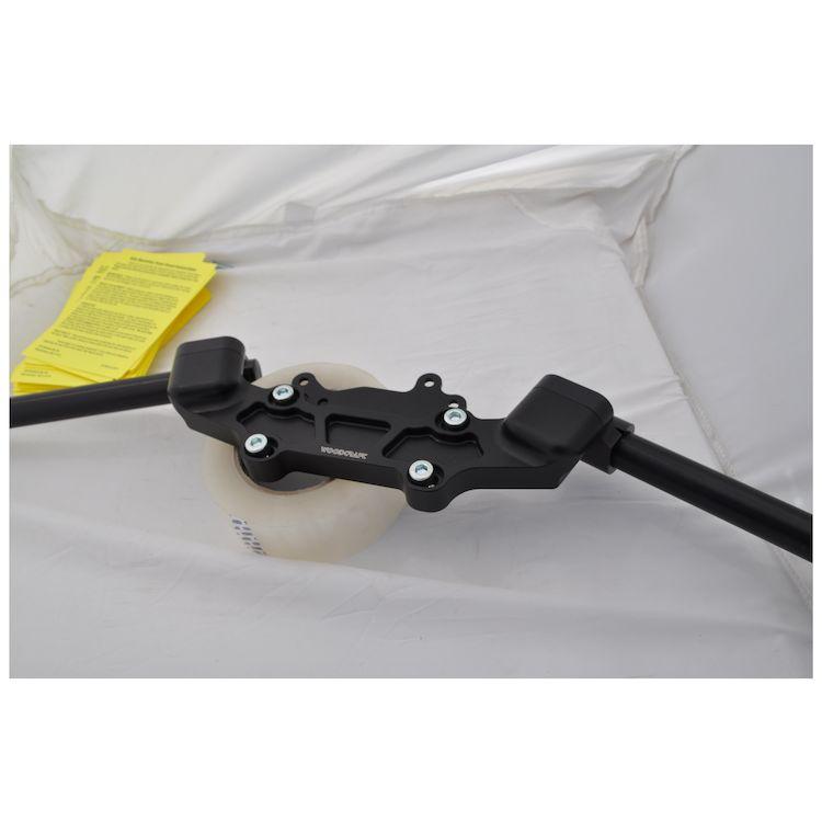 Woodcraft Clip-On Risers w/ Adapter Plate Yamaha FZ-09 / XSR900