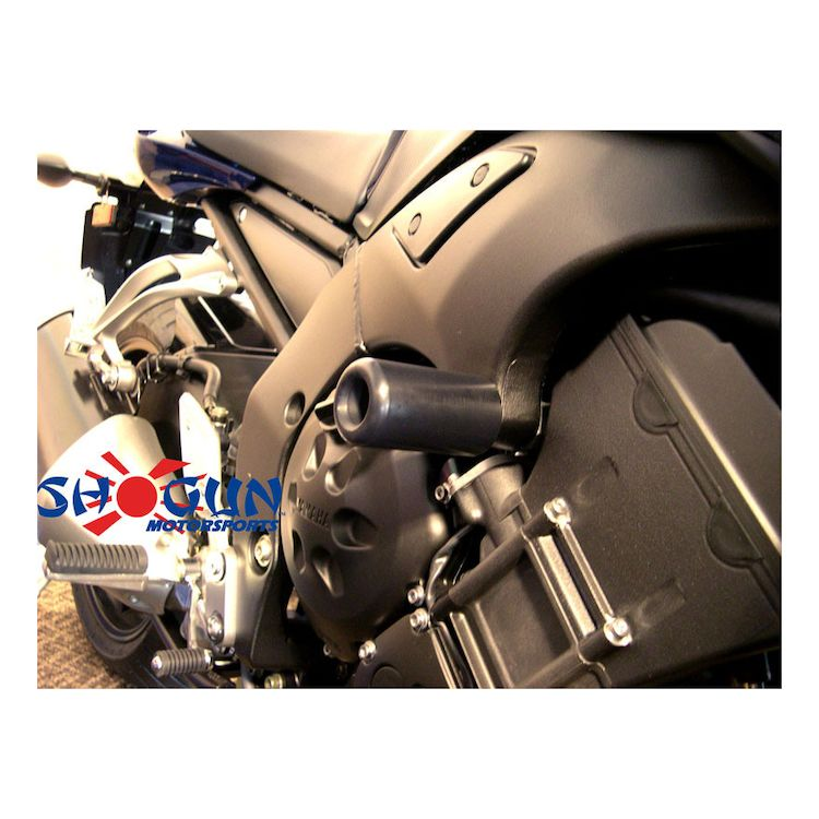 750-6360 Shogun Yamaha FZ6R FZ6 2009 2010 2011 2012 2013 2014 2015 2016 2017 White No Cut Frame Sliders MADE IN THE USA