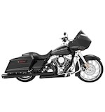 "Freedom Performance 4.5"" Combat Slip-On Mufflers For Harley Touring 1995-2016"