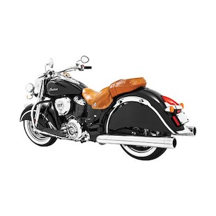 "Freedom Performance 4"" Slip-On Mufflers For Indian Chieftain 2014-2018"