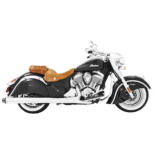"""Freedom Performance 4.5"""" Slip-On Mufflers For Indian Chieftain 2014-2018"""