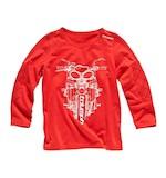Triumph Kids Script T-Shirt