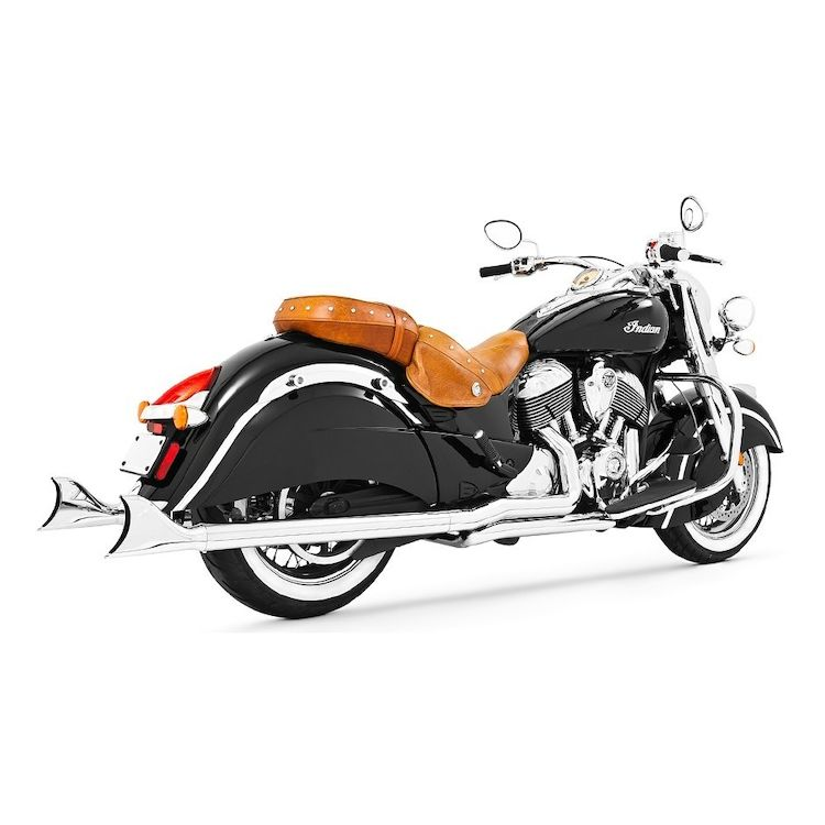 Freedom Performance True Dual Sharktail Exhaust For Indian Chieftain 2014-2020
