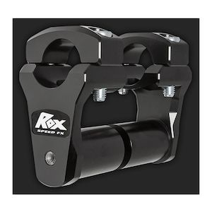 "Rox 2"" Extended Stem Pivoting Risers For 1-1/8"" Handlebars"
