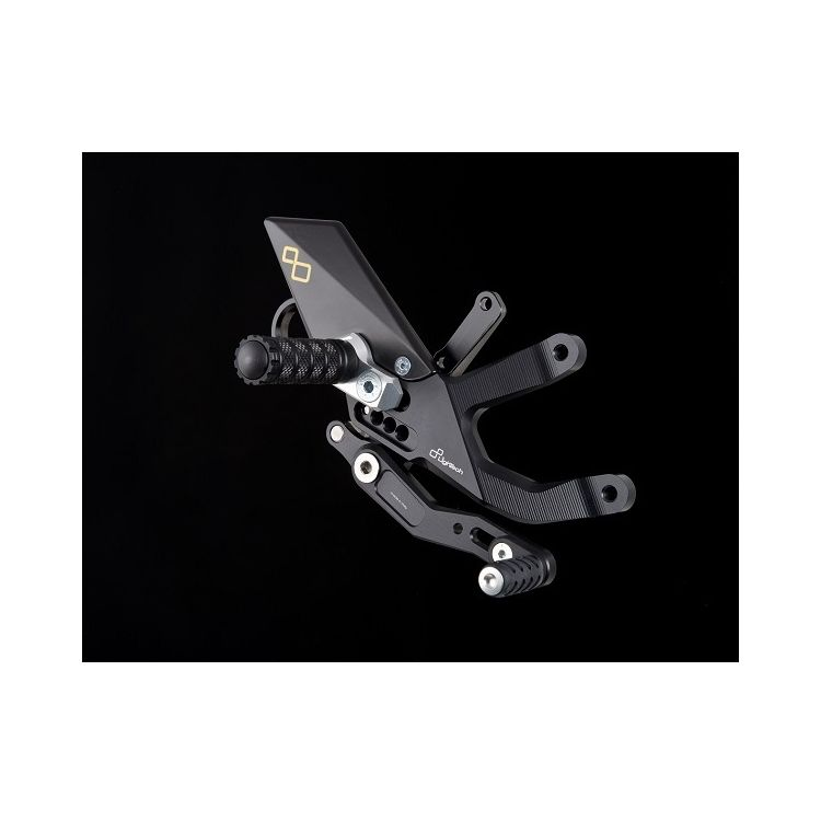 Lightech Track System Rearsets BMW S1000RR 2015-2019