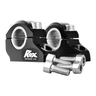 "Rox 1-1/4"" Block Offset Risers For 7/8"" or 1-1/8"" Handlebars"