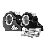 "Rox 1-1/4"" Block Offset Risers For 1-1/8"" Handlebars"
