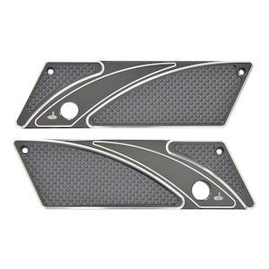 Carl Brouhard Elite Saddlebag Latch Covers For Harley Touring 1993-2013