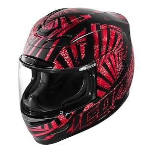 Icon Airmada Spaztyk Helmet Red / 3XL [Demo - Good]