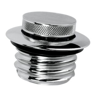 Drag Specialties Pop-Up Low-Profile Gas Cap For Harley 1982-1996 Vented Cap / Chrome [Open Box]