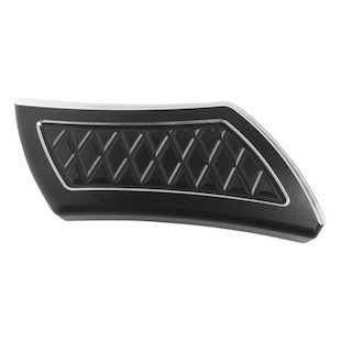 Eddie Trotta Platinum Cut Brake Pedal Cover For Harley FL 2002-2017