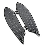 Carl Brouhard Elite Series Driver Floorboards For Harley 1984-2015