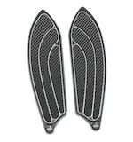 Carl Brouhard Elite Series Passenger Floorboards For Harley 1986-2016