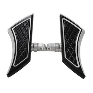 Eddie Trotta Platinum Cut Mini Folding Floorboards For Harley