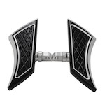 Eddie Trotta Platinum Cut Mini Folding Floorboards For Harley