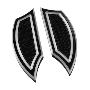 Eddie Trotta Cross Cut Mini Floorboards For Harley