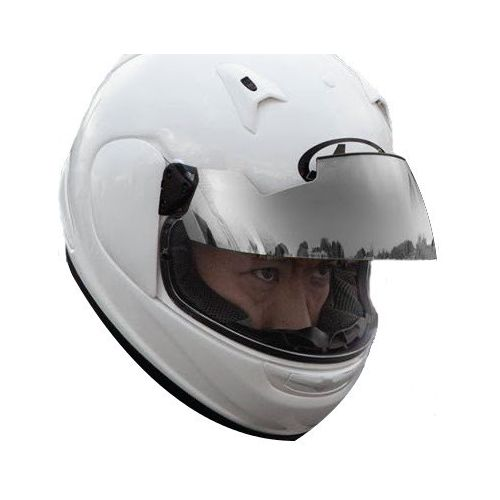Arai pro shade system replacement long visor revzilla for Long silver mirror