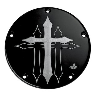 Carl Brouhard Cross Derby Cover For Harley Twin Cam 1999-2017