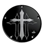 Carl Brouhard Cross Derby Cover For Harley Twin Cam 1999-2016