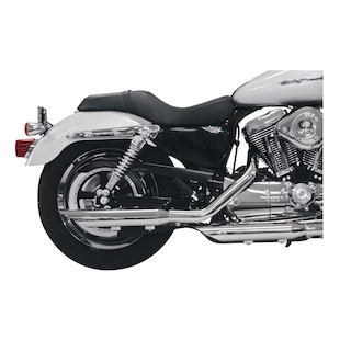 """S&S 3"""" Performance Slip-On Mufflers For Harley Sportster 2004-2013"""