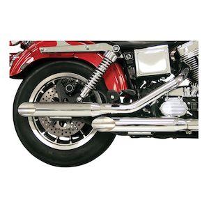 "S&S 3"" Performance Slip-On Mufflers For Harley"