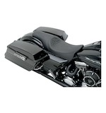 Carl Brouhard Designs Cross 2-Up Predator Seat For Harley Touring 2008-2015