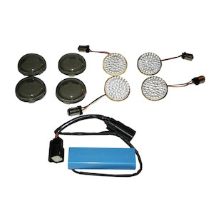 Custom Dynamics LED Turn Signal Conversion Kit For Harley Touring 2010-2013
