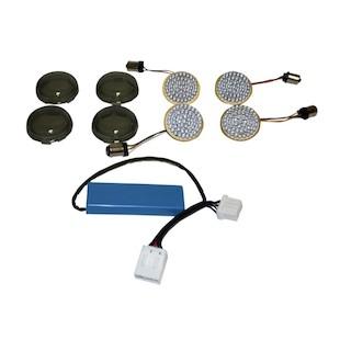 Custom Dynamics LED Turn Signal Conversion Kit For Harley 1996-2013