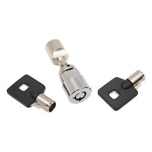Drag Specialties Chrome Fork Lock For Harley 2001-2015
