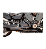 Trask 2-Into-1 Hot Rod Exhaust For Victory Touring Bagger 2010-2015