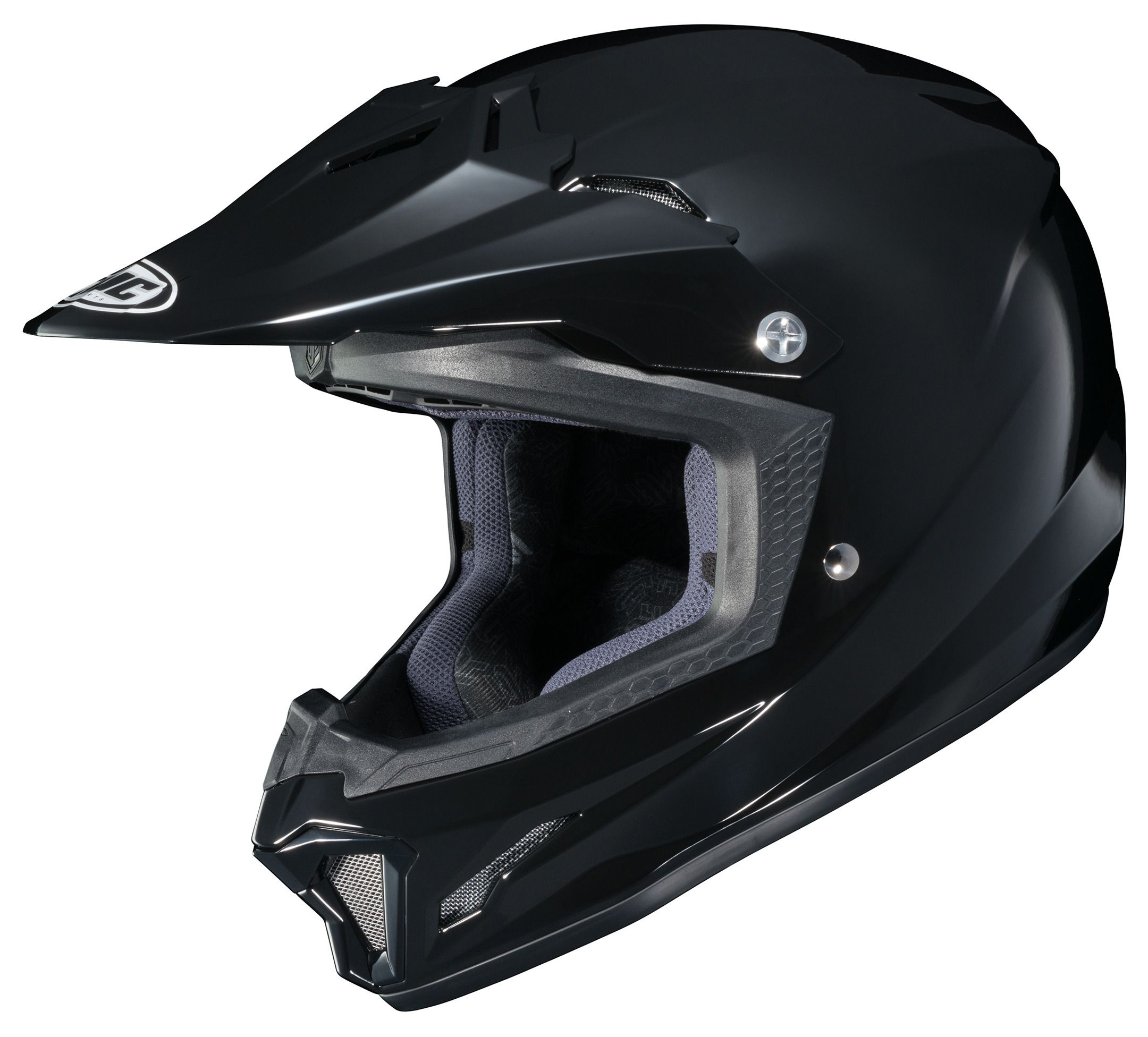 Amazoncom HJC CLY Youth Motorcycle Helmet Black