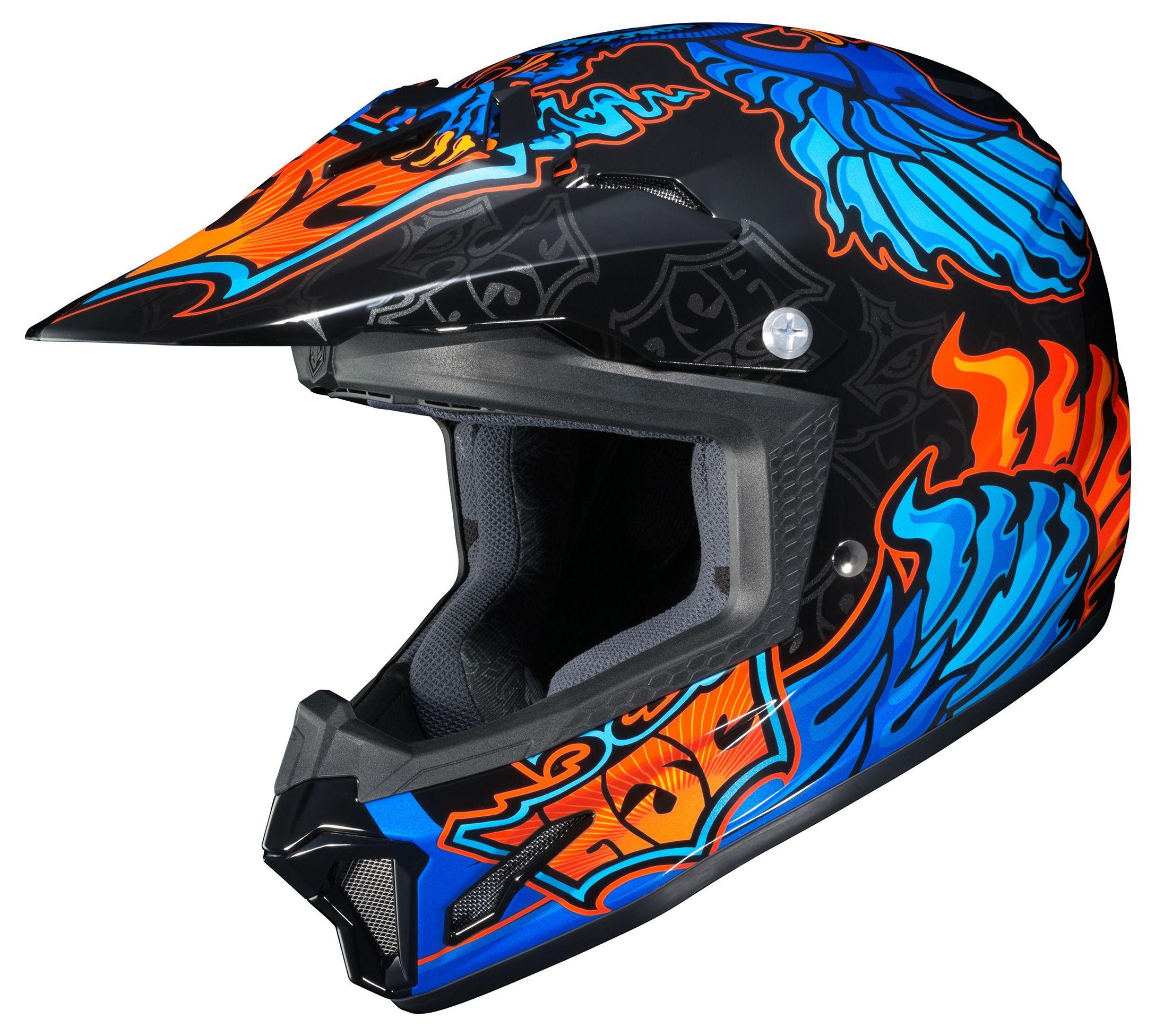 Hjc Youth Cl Xy 2 Eye Fly Helmet Revzilla