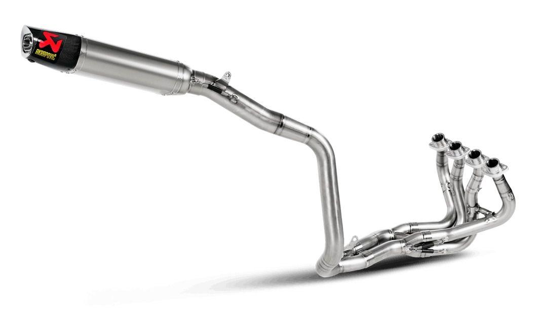 akrapovic evolution exhaust system honda cbr600rr 2013