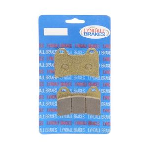 Lyndall Brakes Gold Plus Brake Pads For Victory 1998-2007