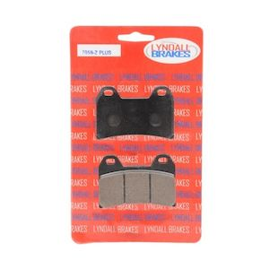 Lyndall Brakes Z-Plus Carbon/Kevlar Brake Pads For Victory 1998-2007