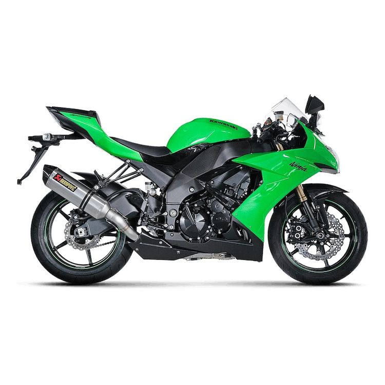 Akrapovic Racing Exhaust System Kawasaki ZX10R 2008-2009