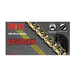 RK 520 GXW XW-Ring Chain 102 Links / Gold [Open Box]
